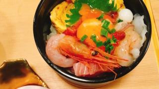 ひゃくまん穀まかないランチを食す!④〜にぎり小屋眩歓「海鮮ユッケ丼」/石川