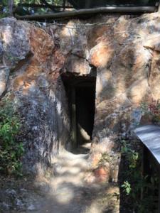 こちらが岩戸の入り口です