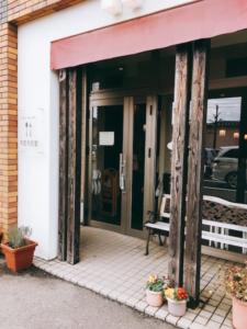お店の入り口の写真です