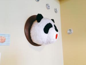 パンダがいます