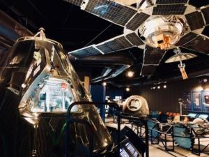宇宙展示室全体の様子