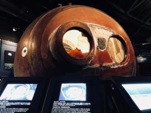 ヴォストーク宇宙カプセルがあります
