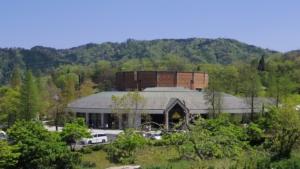 山の上にあるレストラン