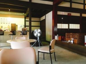 カフェになっているミセノマ
