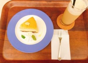 バナナチーズケーキです