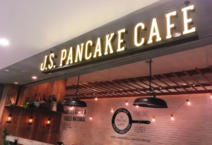 ジェイエスパンケーキカフェのお店です