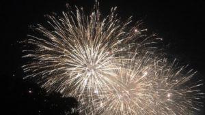 北國花火金沢大会で上がった花火です