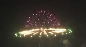 UFO型の花火