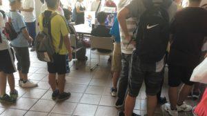 eスポーツ会場には人がたくさん訪れていました