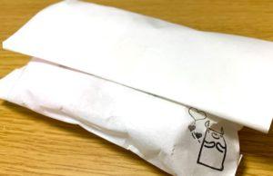 のっティイラストが入った紙袋