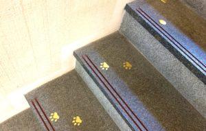 金沢市立安江金箔工芸館の階段