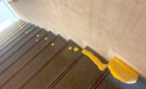 猫の金色の足跡