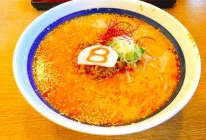 8番ラーメンの坦々麺