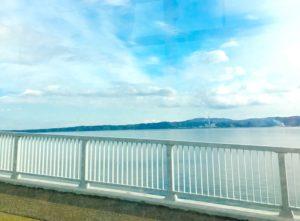 バスから見る能登島