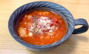 ガスパチョ風スープ