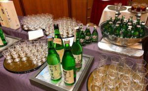 日本酒いただきます