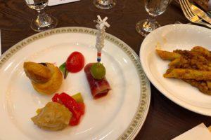 ホテルのお料理1