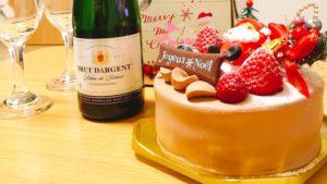 トゥールモンドシュシュのクリスマスケーキ