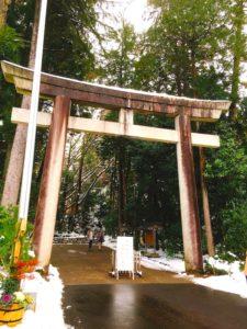 白山比咩神社に到着