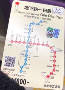 地下鉄一日券