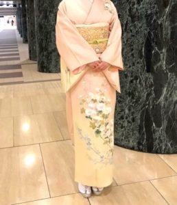 京友禅の着物