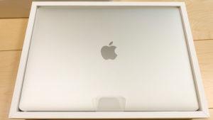 箱に入ったMacBook Pro