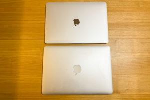 MacBook Proの2014と2020比較