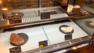 ガリバーカフェのチーズケーキたち