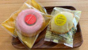 レモンケーキと焼きドーナツ