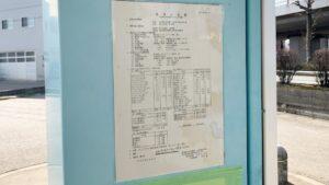 温泉分析表の掲示