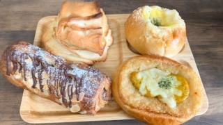 可愛いパン屋さん「Pa・Pan(ぱぱん)」でパンランチ!
