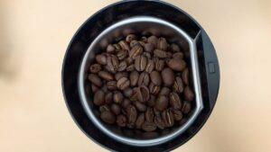 コーヒー豆をセット