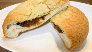 牛すじカレー&チーズメロンパン