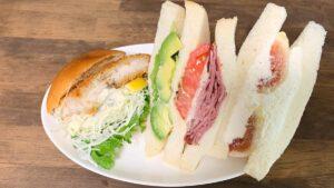 サンドイッチ3種類
